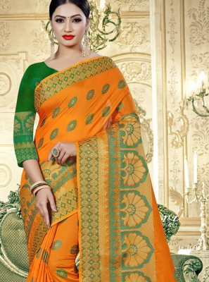 Cotton Silk Classic Designer Saree