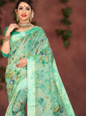 Cotton Silk Party Casual Saree