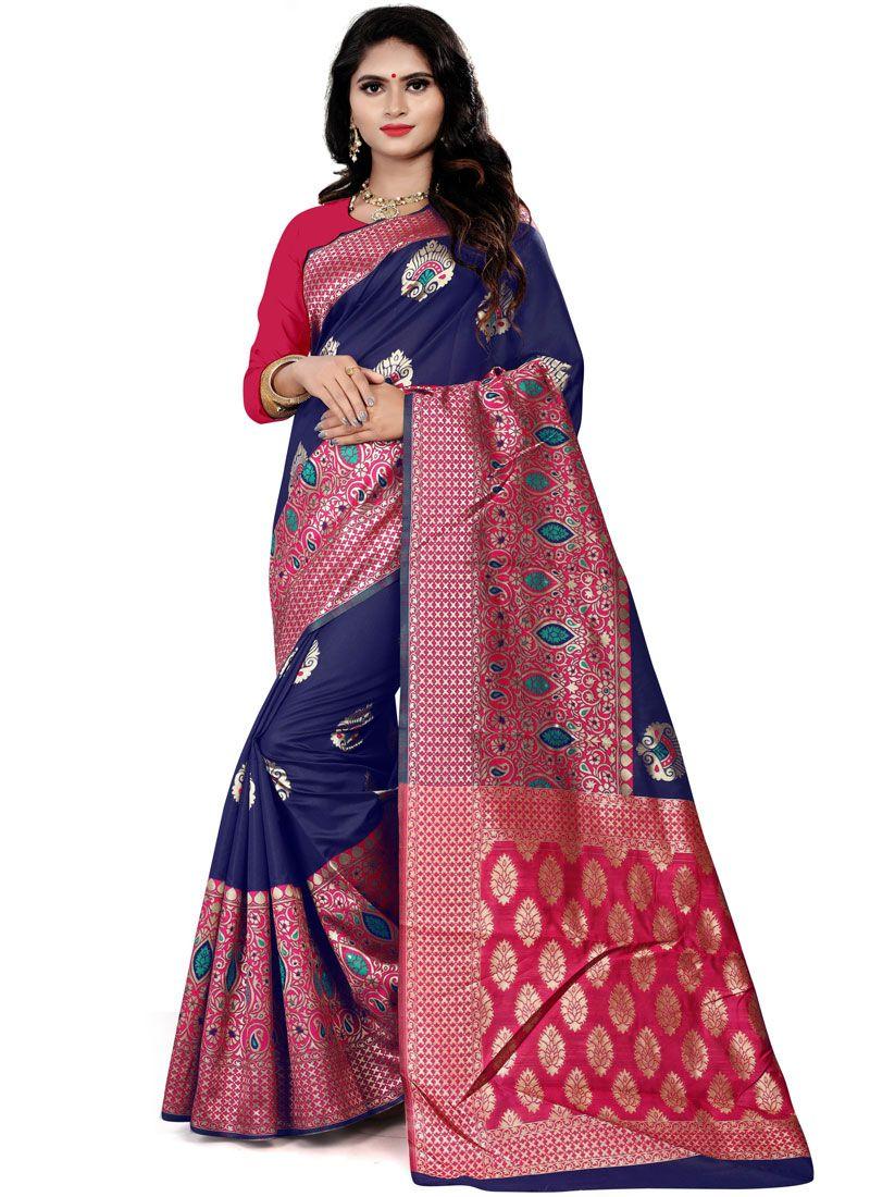 Cotton Silk Party Traditional Saree