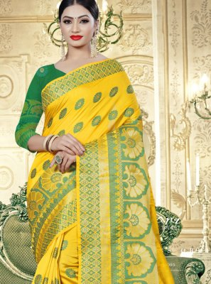 Cotton Silk Printed Designer Saree