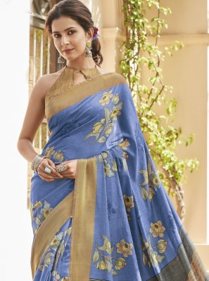 Cotton Silk Stone Work Saree