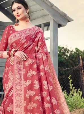 Cotton Silk Woven Classic Designer Saree