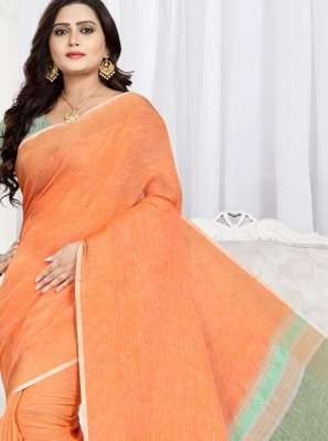 Cotton Trendy Saree