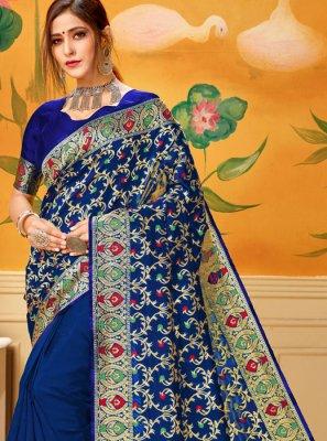 Cotton Woven Casual Saree