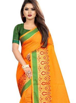 Cotton Woven Classic Designer Saree
