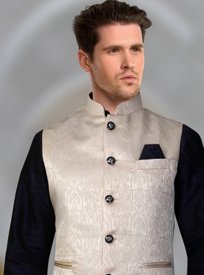 Cream Color Nehru Jackets