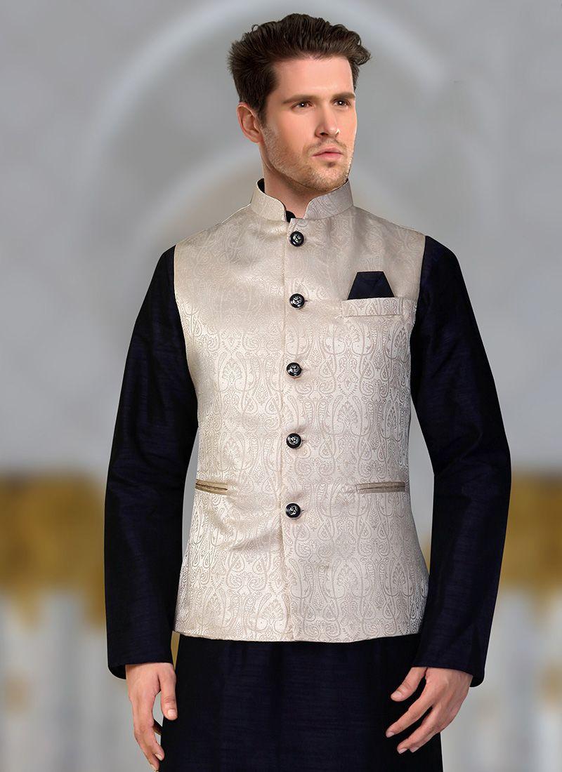 Cream Color Nehru Jackets