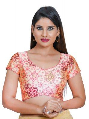 Cream Mehndi Blouse