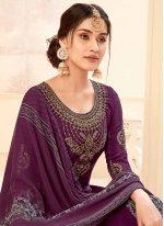 Crepe Silk Salwar Suit