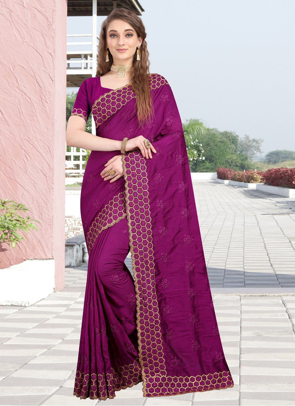 Designer Bollywood Saree For Party