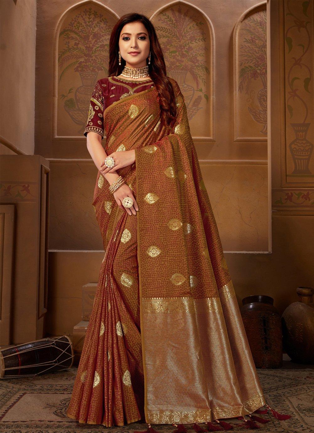 Designer Bollywood Saree For Sangeet
