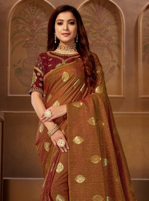 Designer Bollywood Saree For Sangeet