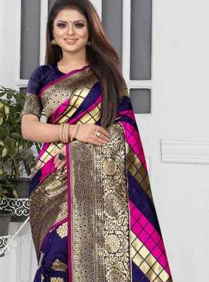 Designer Half N Half Saree For Sangeet