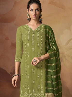 Designer Palazzo Suit For Party