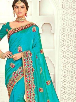 Designer Poly Silk Classic Designer Saree