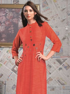 Designer Rayon Party Wear Kurti