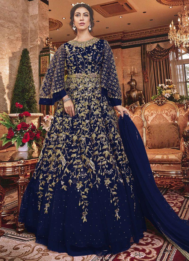 Designer Salwar Kameez For Reception