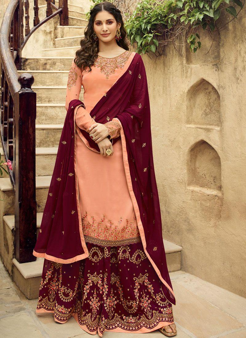 Designer Salwar Suit For Reception