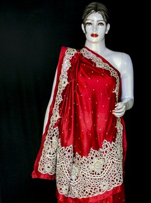 Designer Saree For Mehndi