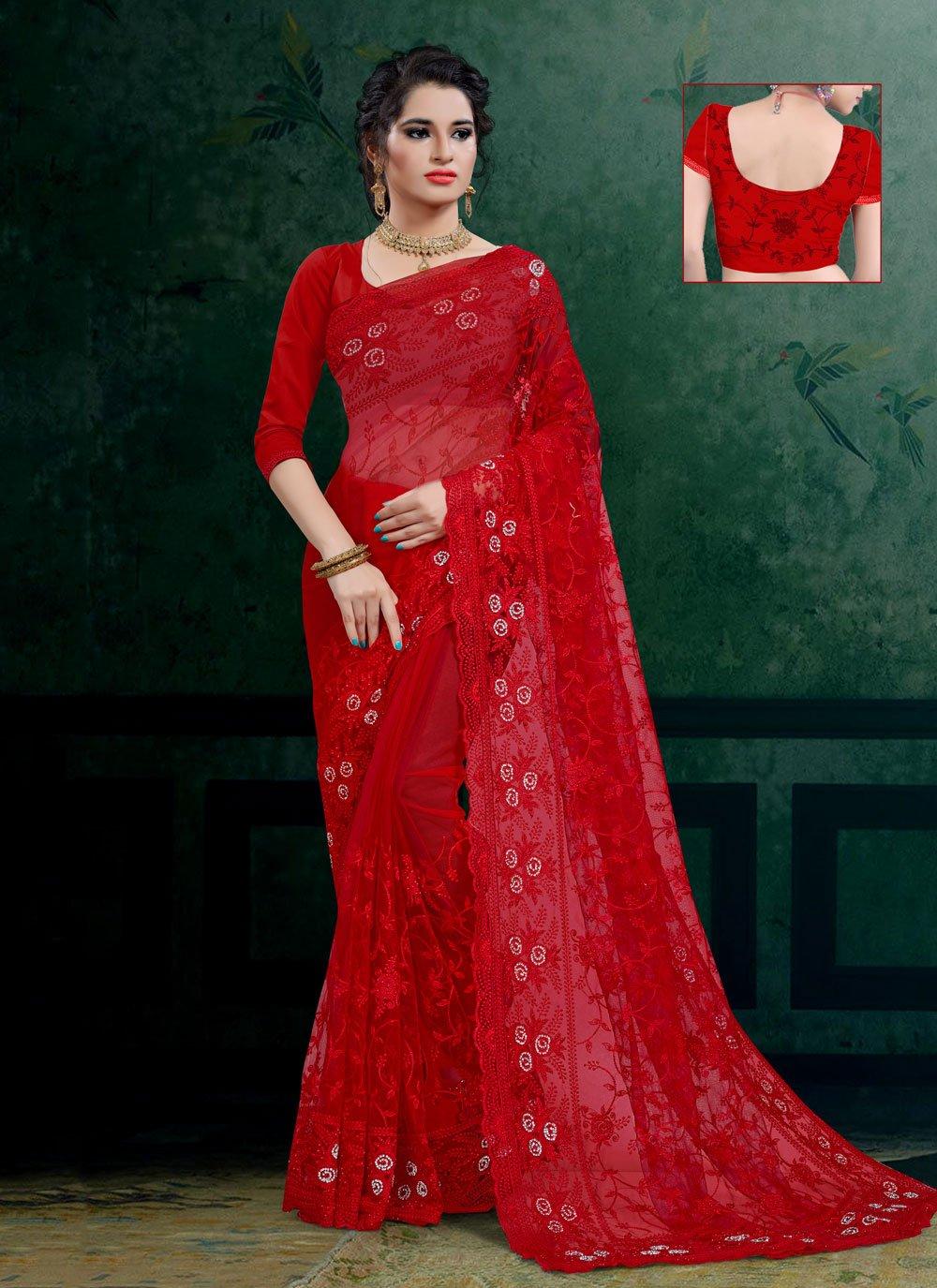 Designer Saree For Reception