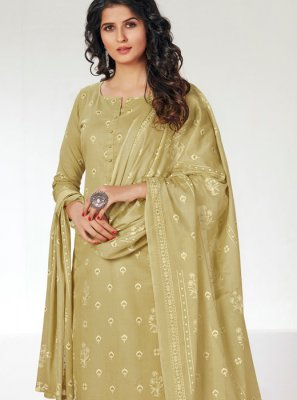 Designer Straight Salwar Kameez For Party
