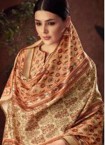 Diamond Cotton Yellow Palazzo Designer Salwar Kameez