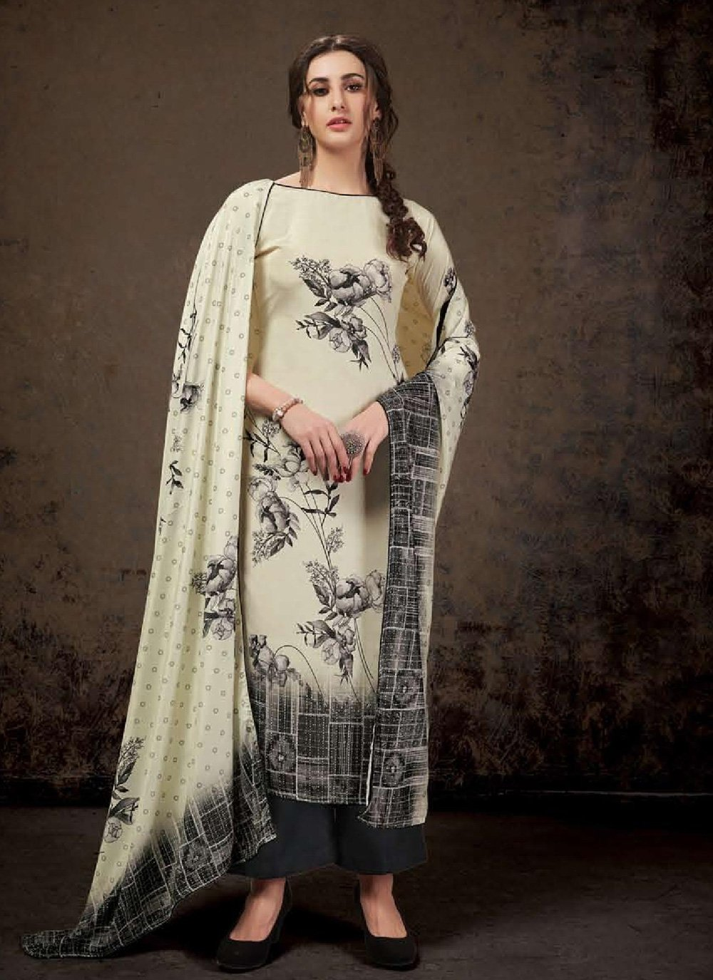 Digital Print Casual Salwar Suit