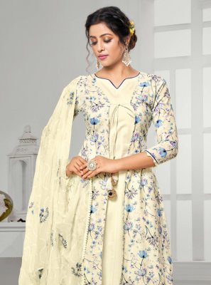 Digital Print Cotton Bollywood Salwar Kameez