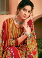 Digital Print Palazzo Salwar Suit