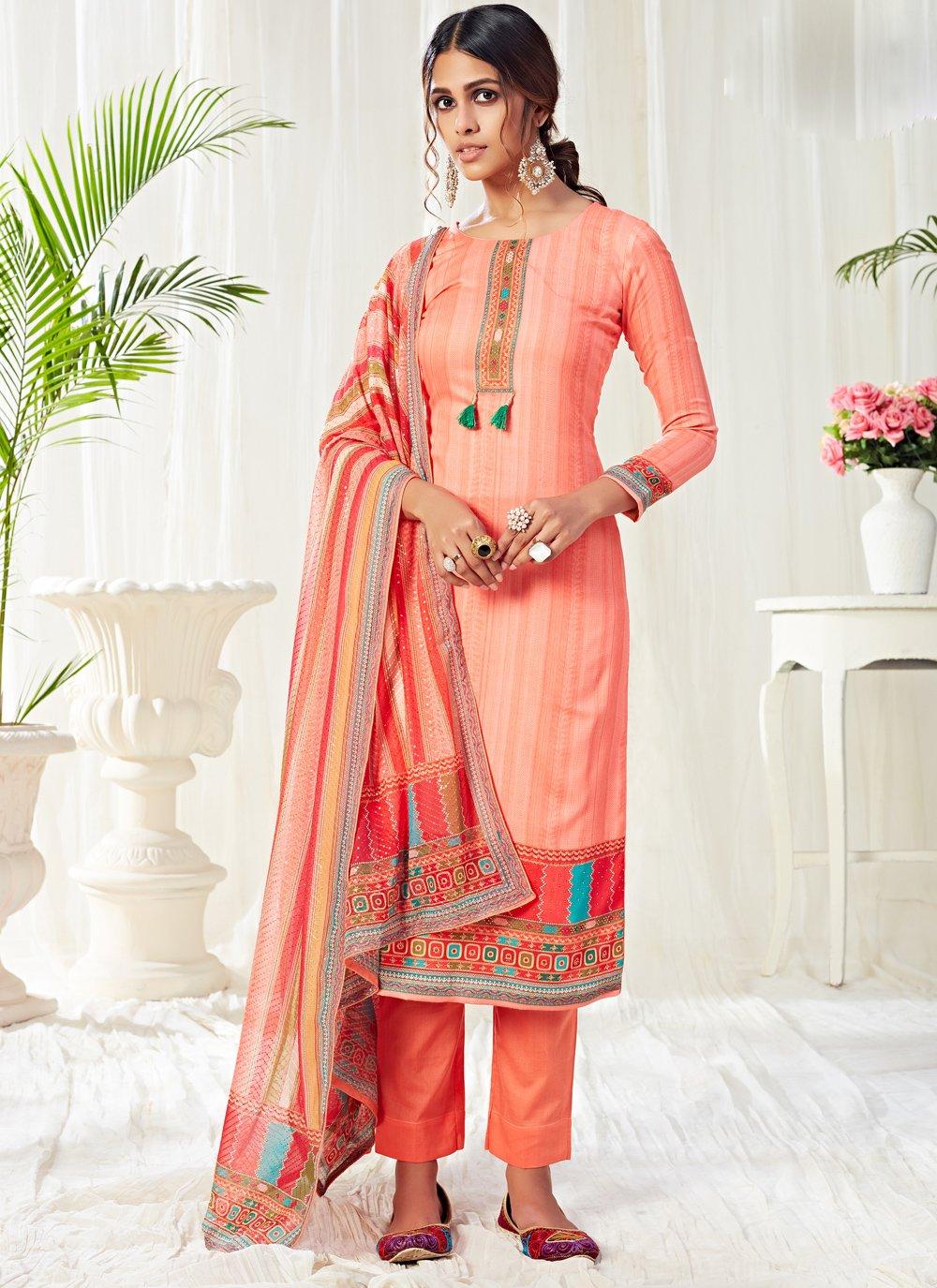 Digital Print Trendy Salwar Suit