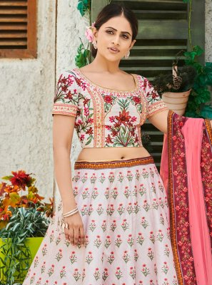 Digital Print Wedding Trendy Lehenga Choli