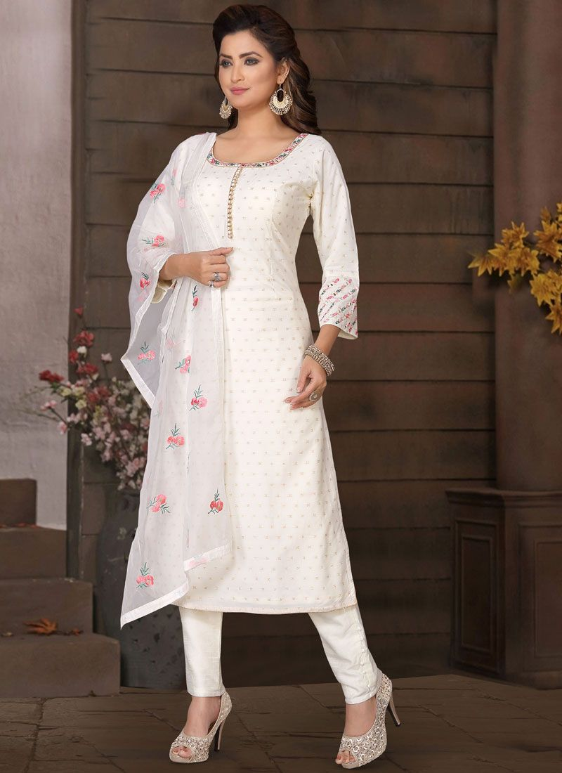 Dori Work Brocade Salwar Suit