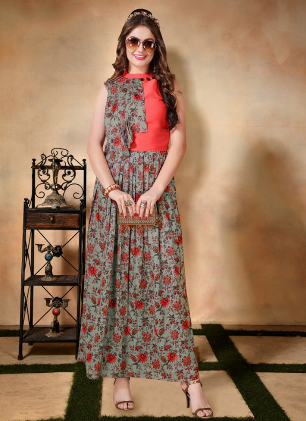 Embroidered Casual Party Wear Kurti