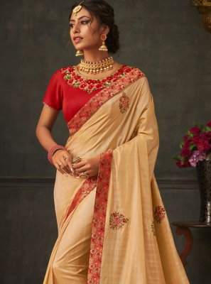Embroidered Ceremonial Classic Saree