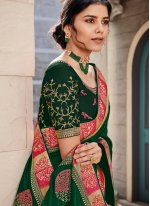 Embroidered Ceremonial Contemporary Saree