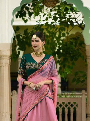 Embroidered Ceremonial Designer Lehenga Choli