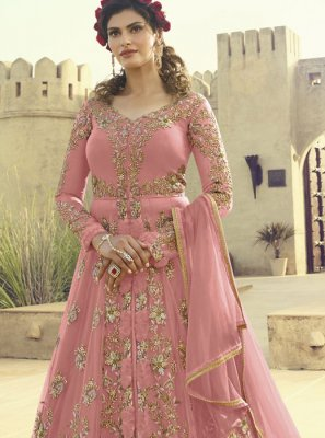 Embroidered Ceremonial Floor Length Anarkali Salwar Suit