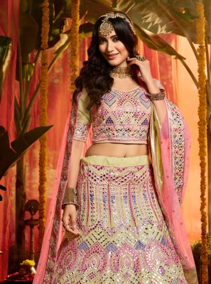 Embroidered Ceremonial Lehenga Choli