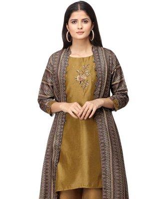 Embroidered Ceremonial Salwar Suit