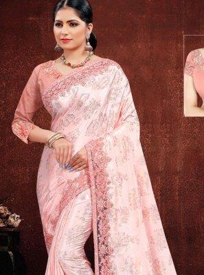 Embroidered Classic Designer Saree