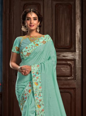 Embroidered Classic Saree