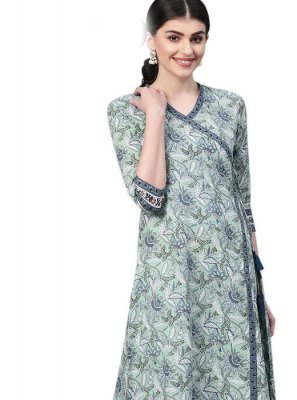 Embroidered Cotton Designer Kurti