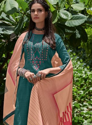 Embroidered Cotton Salwar Kameez