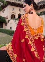 Embroidered Designer Contemporary Saree