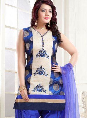 Embroidered Designer Patiala Suit