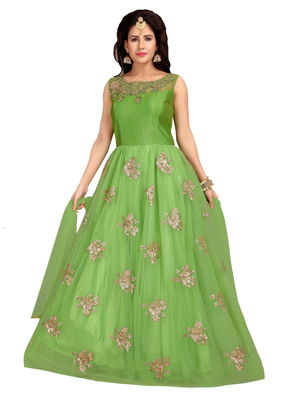 Embroidered Desinger Anarkali Suit