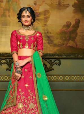 Embroidered Engagement A Line Lehenga Choli