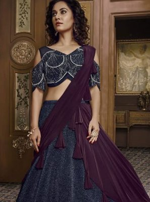 Embroidered Fancy Fabric Designer Lehenga Choli