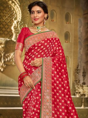 Embroidered Festival Classic Saree