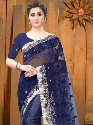 Embroidered Festival Contemporary Saree